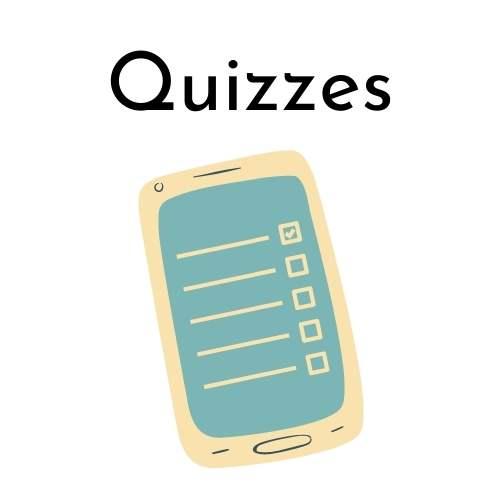 Quizzes Button