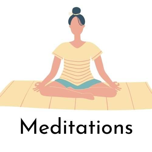 Meditations Button